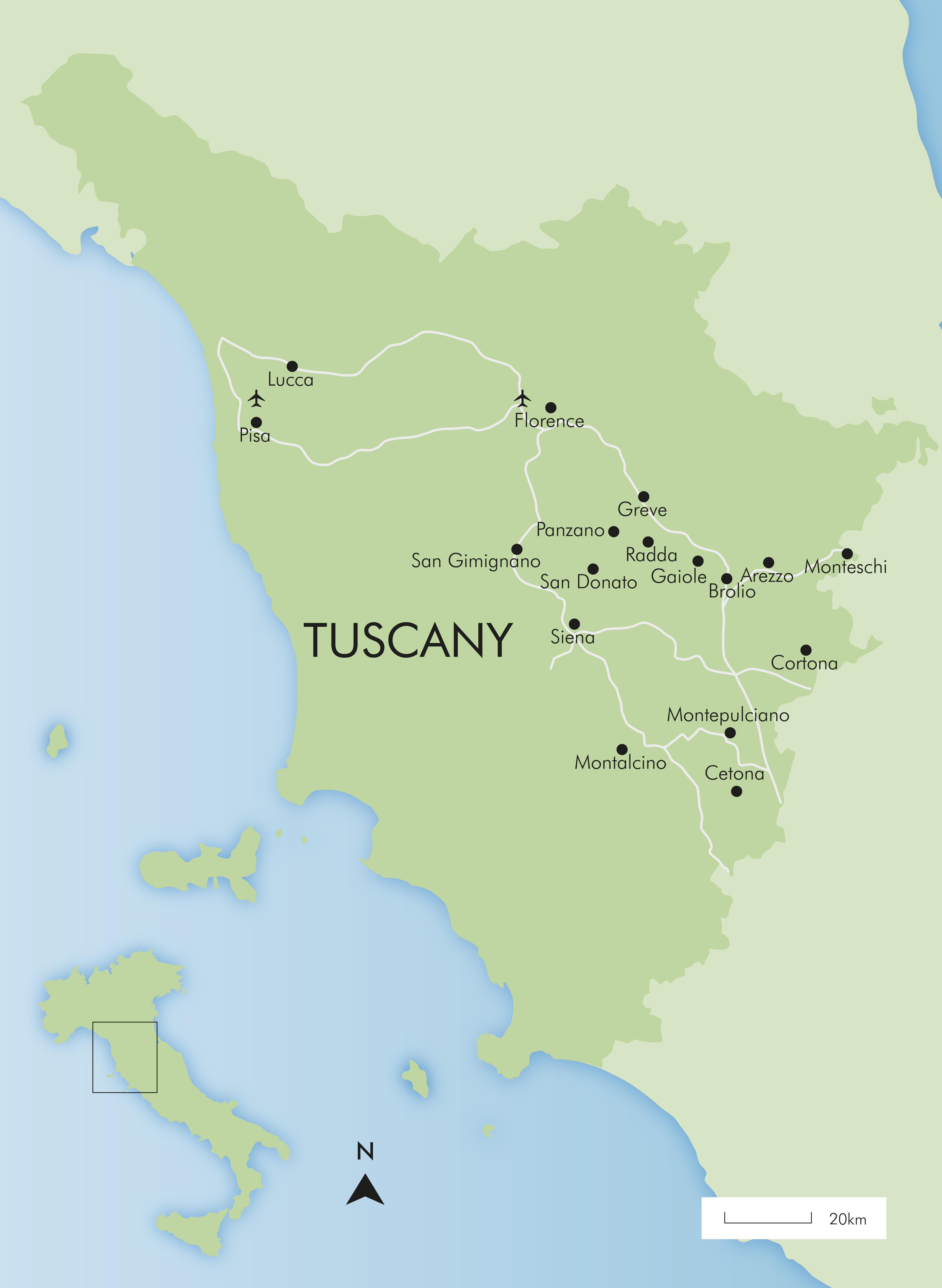 Luxury Tuscany Holidays 2019 | Simpson Travel